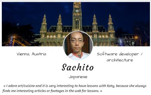 Sachito English